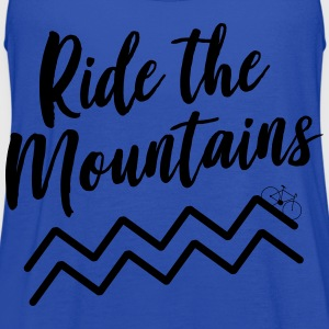 Ride the Mountains T-Shirts - Women's Flowy Tank Top by Bella