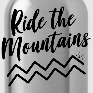 Ride the Mountains T-Shirts - Water Bottle