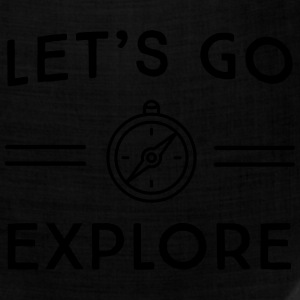 Let's go explore T-Shirts - Bandana