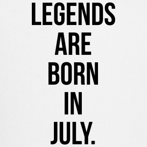 Legends are born in july T-Shirts - Trucker Cap