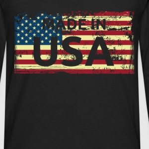 Made in USA - Men's Premium Long Sleeve T-Shirt