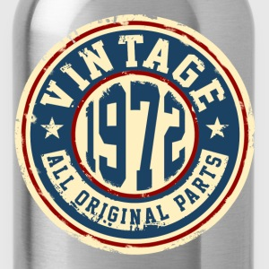 Vintage 1972 T-Shirts - Water Bottle