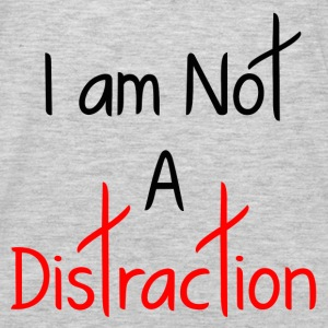 A DISTRACTION FUNNY Hoodies - Men's Premium Long Sleeve T-Shirt
