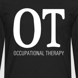 Occupational Therapy Graphic T-shirt T-Shirts - Men's Premium Long Sleeve T-Shirt