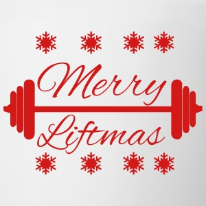Merry Liftmas T-Shirts - Coffee/Tea Mug