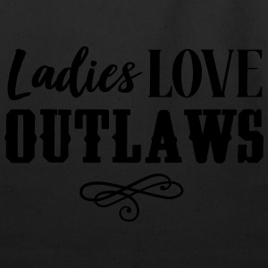 Ladies love outlaws T-Shirts - Eco-Friendly Cotton Tote