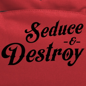Seduce and destroy T-Shirts - Computer Backpack