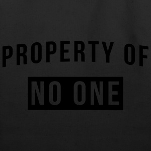 Property of no one T-Shirts - Eco-Friendly Cotton Tote