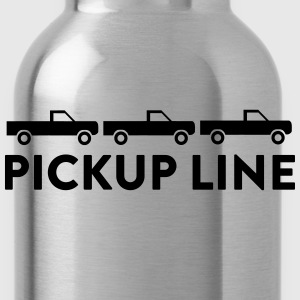 Pickup Line T-Shirts - Water Bottle