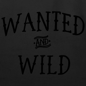 Wanted and Wild T-Shirts - Eco-Friendly Cotton Tote