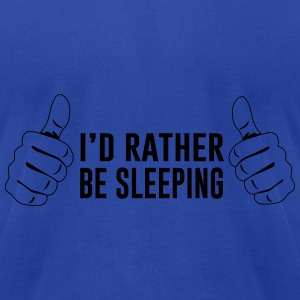 I'd rather be sleeping Tanks - Men's T-Shirt by American Apparel