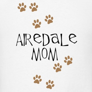 Airedale Mom - Men's T-Shirt