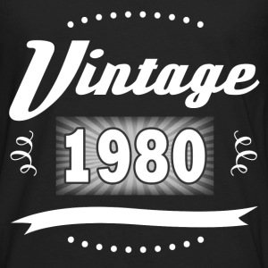 VINTAGE 1980 1.png T-Shirts - Men's Premium Long Sleeve T-Shirt