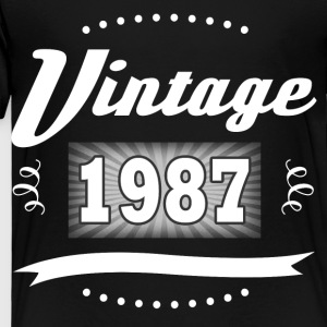 VINTAGE 1987 2.png Kids' Shirts - Toddler Premium T-Shirt