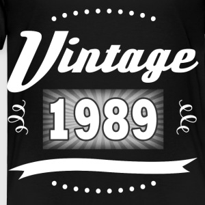 VINTAGE 1989 2.png Kids' Shirts - Toddler Premium T-Shirt