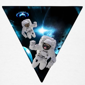 Puppies Lost in Space Phone & Tablet Cases - Men's T-Shirt