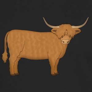 Highland Cattle Baby & Toddler Shirts - Men's Premium Long Sleeve T-Shirt