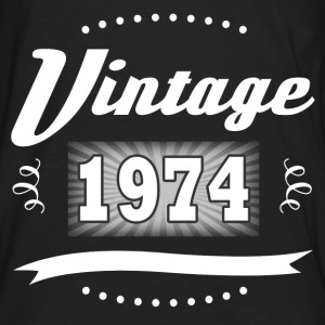 VINTAGE 1974 1.png T-Shirts - Men's Premium Long Sleeve T-Shirt