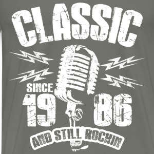Classic Since 1986 Long Sleeve Shirts - Men's Premium T-Shirt