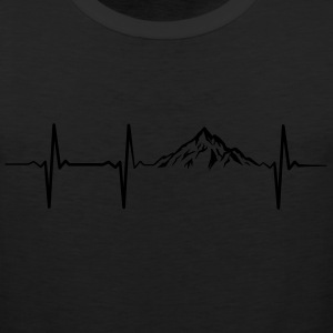 Mountain Heartbeat T-Shirts - Men's Premium Tank