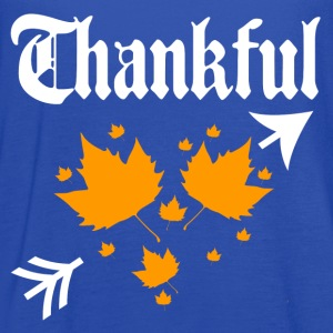 thankful 2.png T-Shirts - Women's Flowy Tank Top by Bella
