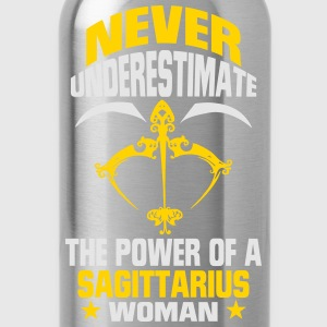 NEVER UNDERESTIMATE THE POWER OF A SAGITTARIUS WOMAN! Hoodies - Water Bottle