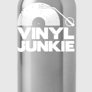 Vinyl Junkie - Water Bottle