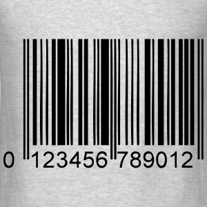 barcode Hoodies - Men's T-Shirt