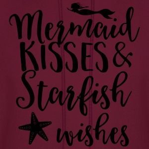 Mermaid kisses and starfish wishes Tanks - Men's Hoodie