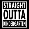 Straight Outta Kindergarten T-Shirts - Men's Premium T-Shirt