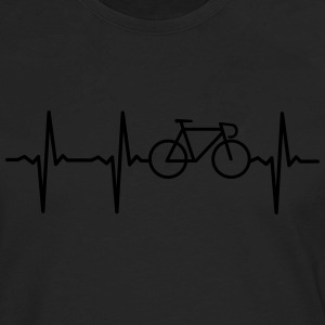 Heartbeat Bike T-Shirts - Men's Premium Long Sleeve T-Shirt