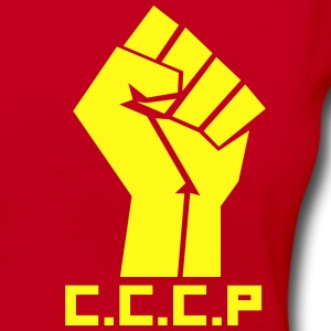 CCCP Hand - Women's V-Neck T-Shirt