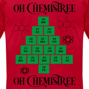 chemistree Long Sleeve Shirts - Men's T-Shirt by American Apparel