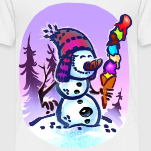 Funny Snowman Kid´s Shirt - Toddler Premium T-Shirt