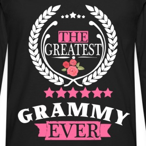 THE GREATEST GRAMMY EVER T-Shirts - Men's Premium Long Sleeve T-Shirt