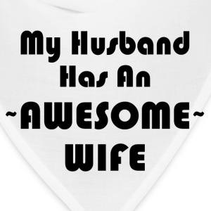 AWESOME WIFE T-Shirts - Bandana