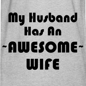 AWESOME WIFE T-Shirts - Men's Long Sleeve T-Shirt