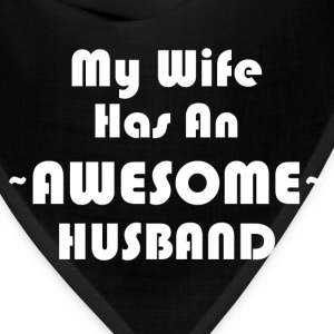 AWESOME HUSBAND T-Shirts - Bandana