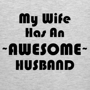 AWESOME HUSBAND T-Shirts - Men's Premium Tank