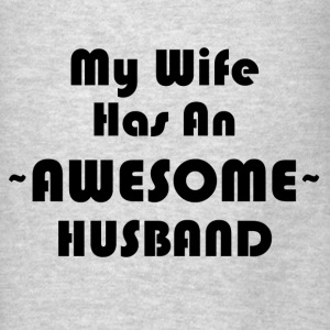 AWESOME HUSBAND Hoodies - Men's T-Shirt