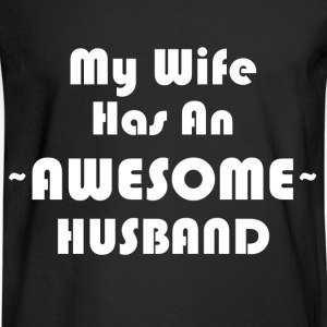 AWESOME HUSBAND T-Shirts - Men's Long Sleeve T-Shirt