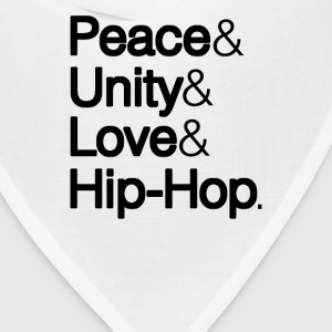 PEACE UNITY LOVE & HIP-HOP	 - Bandana
