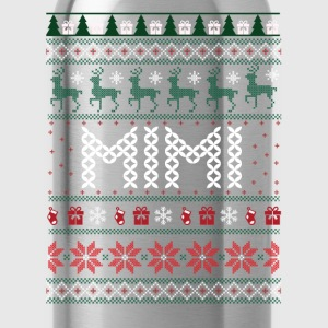 Mimi Ugly Christmas, Long Sleeve Shirts - Water Bottle