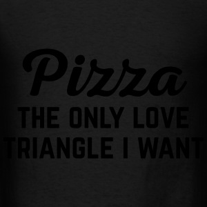 Pizza Love  Funny Quote Hoodies - Men's T-Shirt