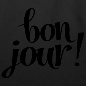 Bon Jour! Tanks - Eco-Friendly Cotton Tote