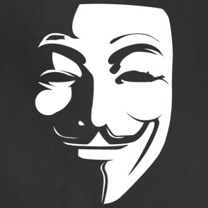Anonymous Guy Fawkes T-Shirt - Adjustable Apron