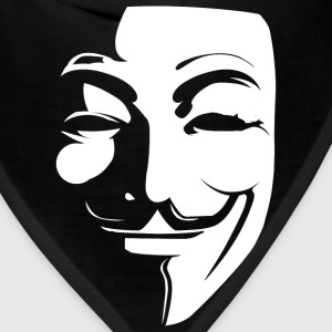 Anonymous Guy Fawkes T-Shirt - Bandana