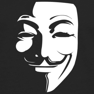 Anonymous Guy Fawkes T-Shirt - Men's Premium Long Sleeve T-Shirt