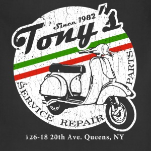 Tony's Scooter Repair (vintage look) - Adjustable Apron
