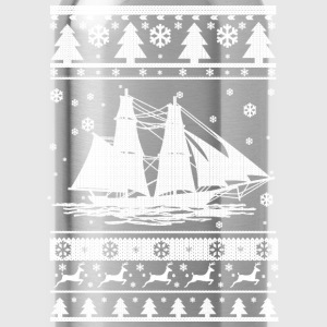 Sailing Christmas Long Sleeve Shirts - Water Bottle